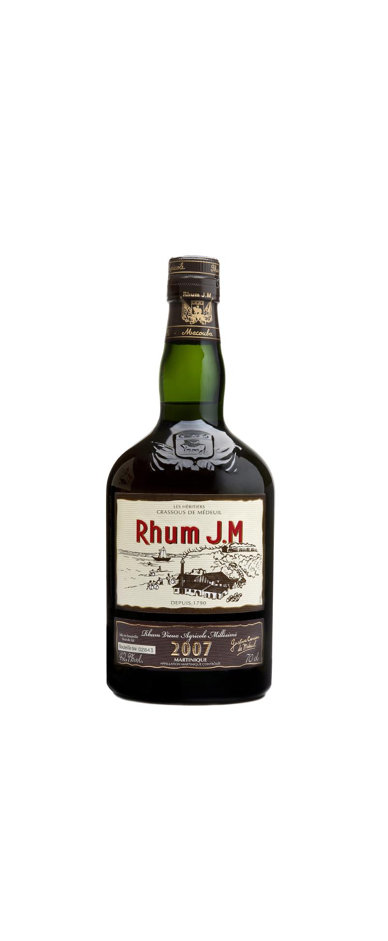 Rhum J.M Vieux 2007