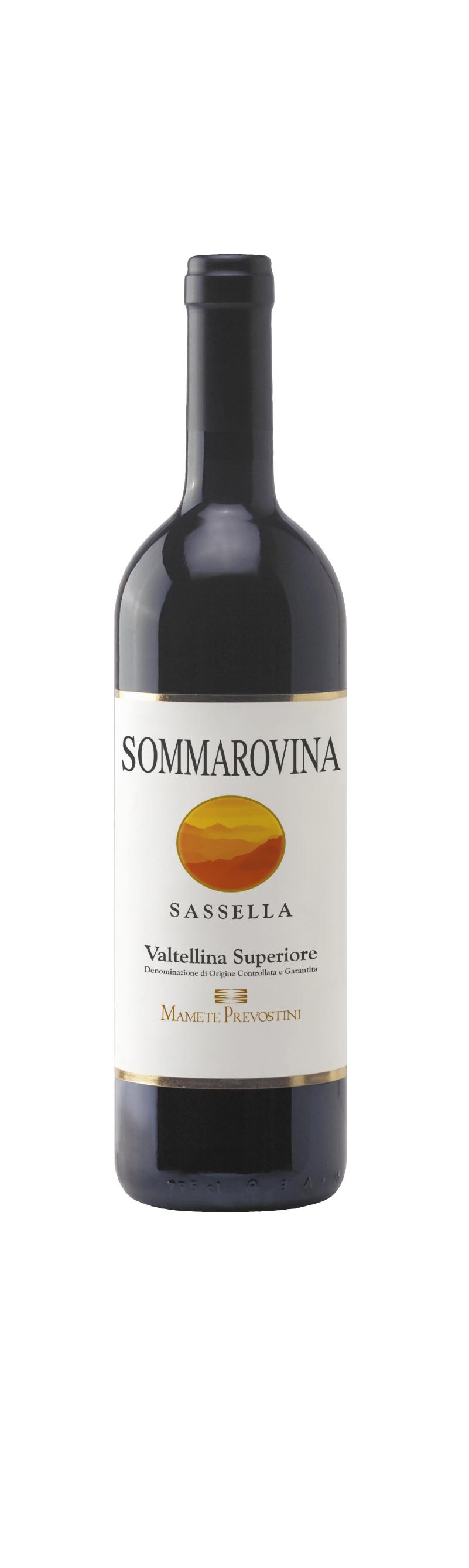 Sommarovina Sassella Valtellina Superiore Docg