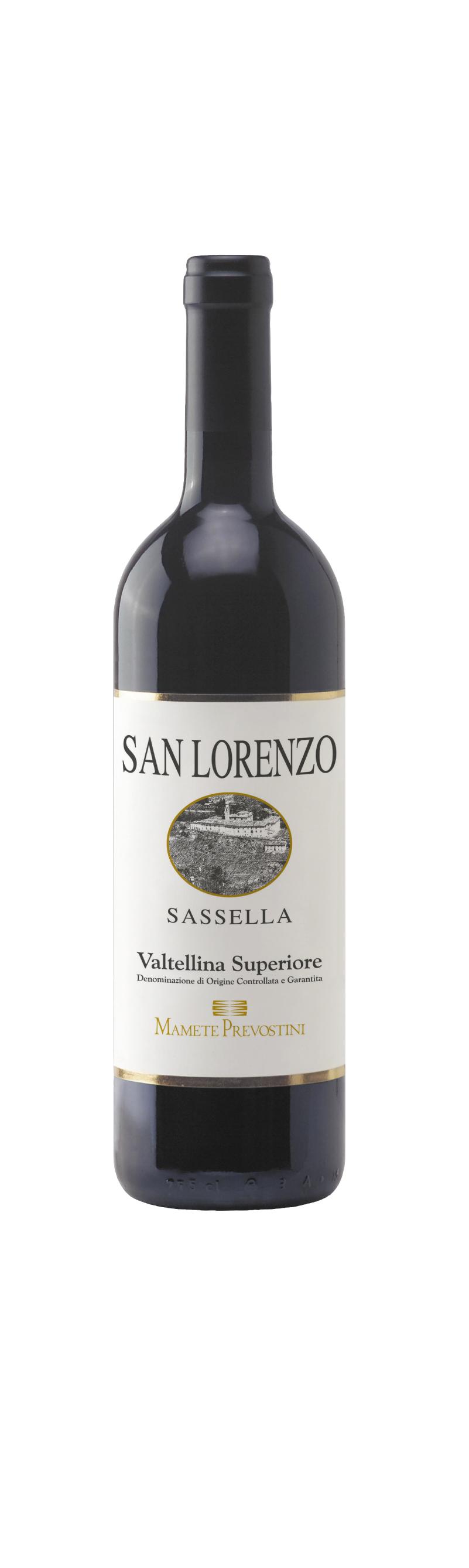 San Lorenzo Sassella Valtellina Superiore Docg